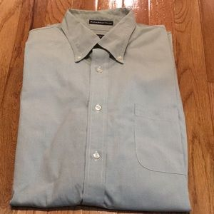 👍 Lands End~~Pinpoint Oxford Dress Shirt 👍